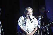 Přerovský skladatel a hudebník Jaroslav Wykrent  oslavil v úterý v Městském domě narozeniny