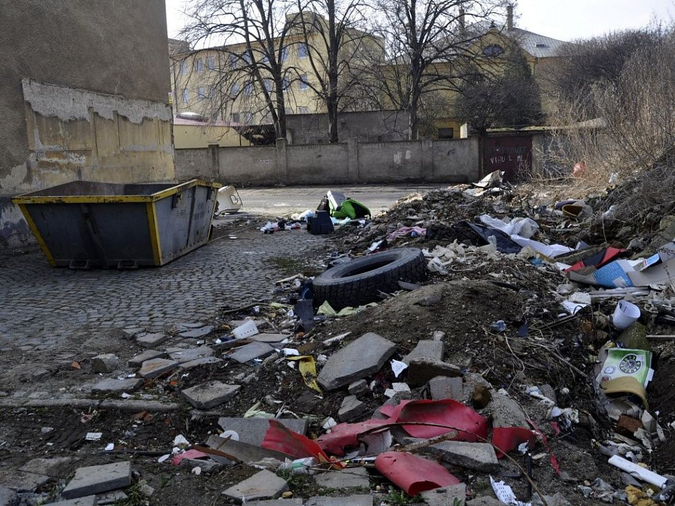 Škodova ulice v Přerově