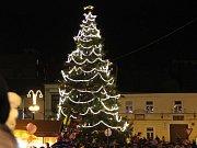 Slavnostní rozsvícení vánočního stromu v Přerově