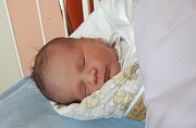 Dominik Foltýn, Hranice, narozen dne 5. prosince 2017 ve Valašském Meziříčí, míra 49 cm, váha 3750 g