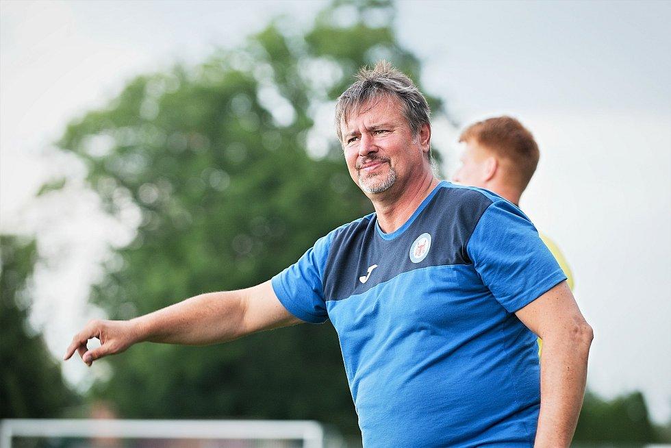 Trenér Přerova Richard Švehlík.
