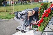 Den válečných veteránů si připomněli v neděli 11. listopadu na náměstí Františka Rasche v Přerově