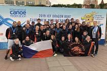 Výprava Dragon Force na MS 2019 na Ukrajině.
