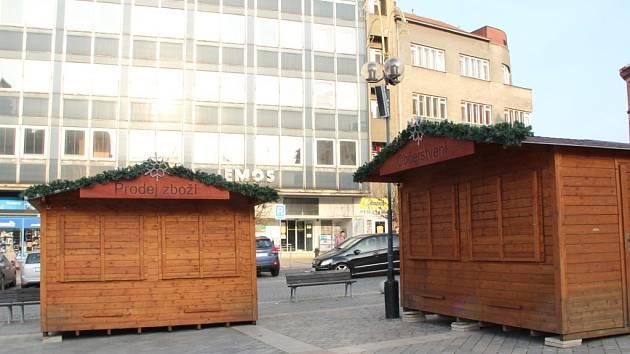 Vánoční stánky v Přerově