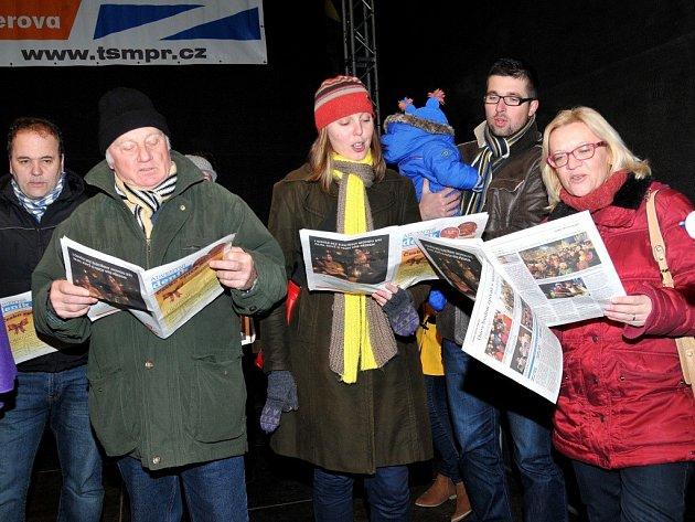 Přerov, Česko zpívá koledy 10. 12. 2014
