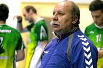 Trenér druholigových házenkářů SK Žeravice Lubomír Lukačovič.