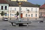 Sedmnáct let stará pískovcová kašna na náměstí T.G. Masaryka se brzy dočká potřebné obnovy