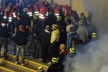 Zápas Přerova se Vsetínem ukončilo řádění fanoušků