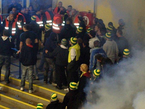 Zápas Přerova se Vsetínem ukončilo řádění hostujících fanoušků