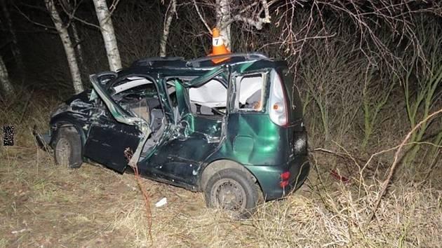 Nehoda na obchvatu u Lipníka nad Bečvou