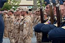 Vojáci v Lipníku nad Bečvou. Ilustrační foto