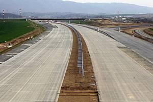 Výstavba D1 na Přerovsku. Ilustrační foto