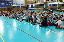 Turnaj volejbalové mládeže v městské sportovní hale v Přerově. Ilustrační foto: