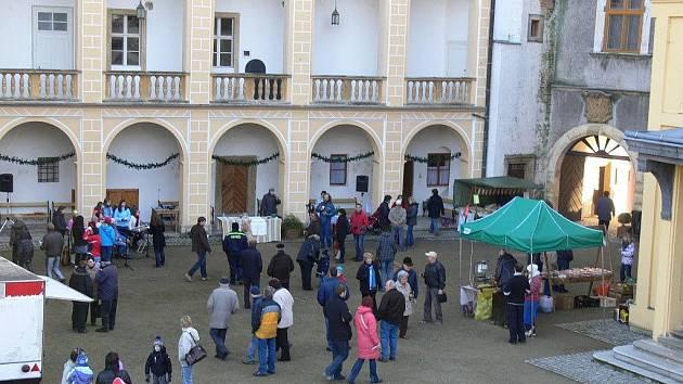 Zámek v Tovačově. Ilustrační foto