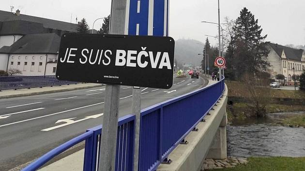 Řeka Moravice. Iniciativa Je suis Bečva / Jsem Bečva