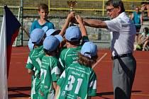 Finálový turnaj mladšího minižactva v házené Olomouckého kraje se letos konalo v Žeravicích
