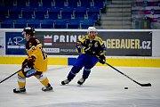 Hokejisté HC Zubr Přerov proti HC Dukla Jihlava v rámci přípravného Zubr Cupu 2018 (3:0).