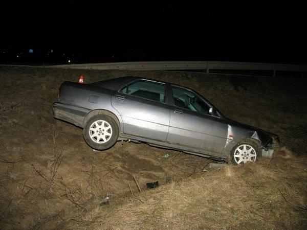 Nehoda vHorní Moštěnici