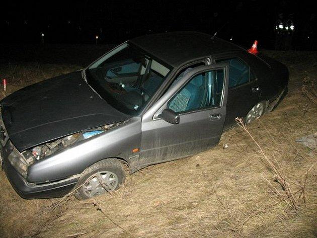 Nehoda v Horních Moštěnicích