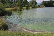 Konec července 2016. Přírodní koupaliště Jadran v Oseku nad Bečvou