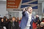 Koncert Pavla Nováka na Štědrý den v Přerově