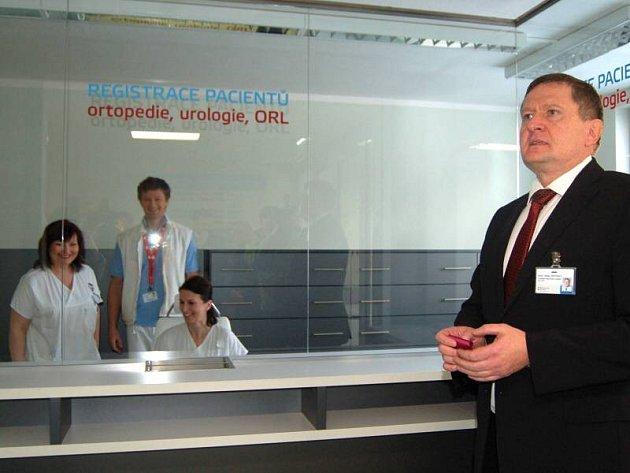 Slavnostní otevření zrekonstruované ambulantní část urologie, ortopedie a ORL v přerovské nemocnici