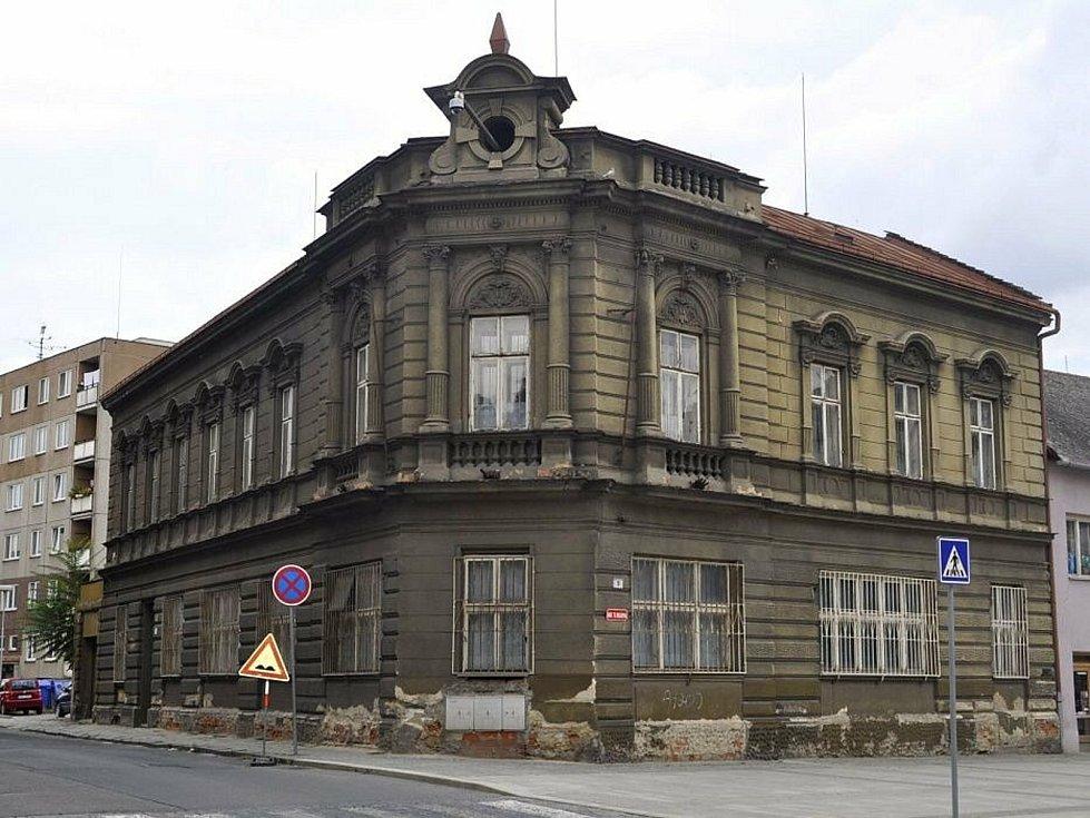 Blažkův dům na Masarykově náměstí v Přerově