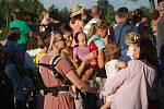 Festival Hudební léto na hradbách hostil v úterý večer skupinu Bandaband. Letní koncerty na prostranství u Neptuna se těší velkému zájmu posluchačů.