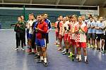 Memoriál Tomáše Venského (Davida Talacha a Josefa Kostihy) v hale TJ Spartak Přerov.