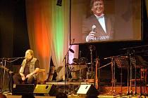 Jaroslav Wykrent na vzpomínkovém koncertě na Pavla Nováka