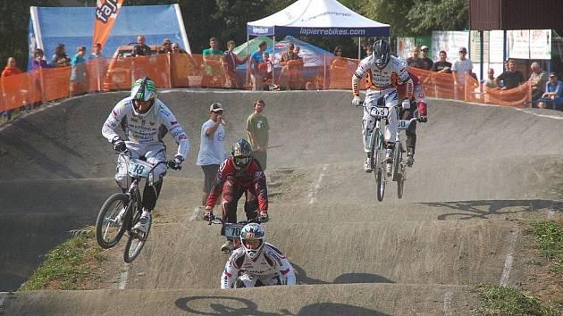 Závod mistrovství České republiky.v bikrosu v Přerově