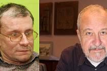 Předseda spolku Děti Země Miroslav Patrik vs. primátor Vladimír Puchalský (SpP)