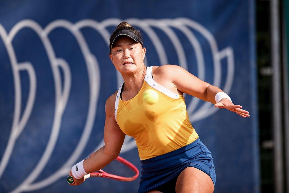 Tenisový Zubr Cup 2020 v Přerově. Grace Minová