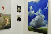 Expozice s názvem Rytmus ticha v přerovské Pasáži