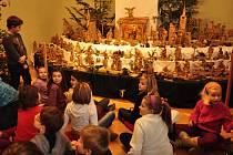 Vánoce na zámku v Přerově. Ilustrační foto