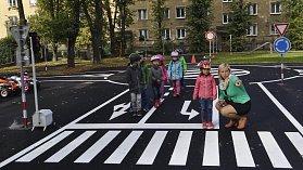 Otevření nového dopravního hřiště v areálu Střediska volného času Atlas na Žižkově náměstí