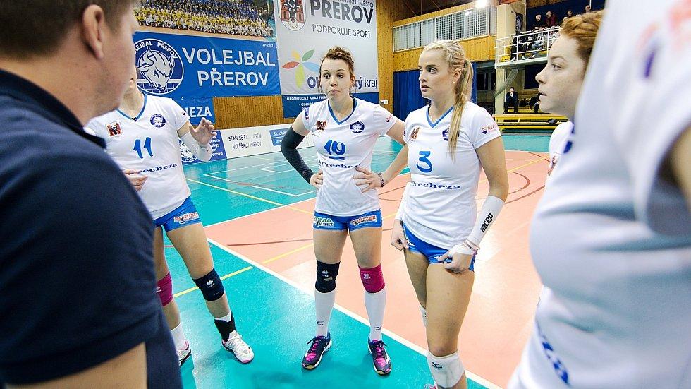 Volejbalistky Přerova. Ilustrační foto