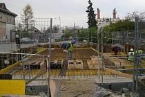 Stavba nového kanalizačního systému a čistírny v Brodku u Přerova