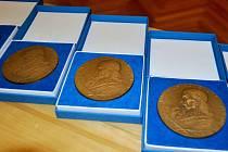 Cena města Přerova - medaile J.A. Komenského