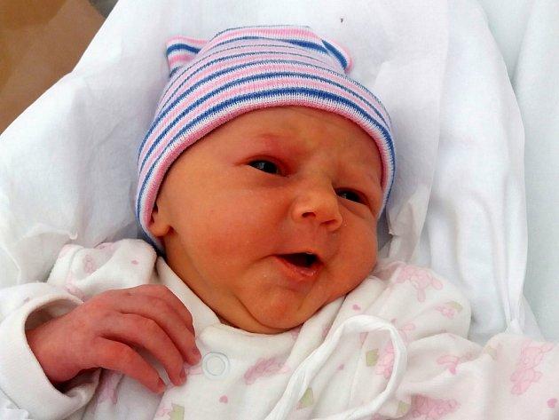 Natálie Adamová, Radotín, narozena 20. července 2017 v Přerově, míra 46 cm, váha 2764 g