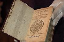 Unikátní první vydání Komenského díla Schola ludus