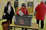 Druhé kolo prezidentských voleb v Přerově