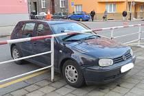 Nehoda poblíž Základní školy Boženy Němcové v Přerově