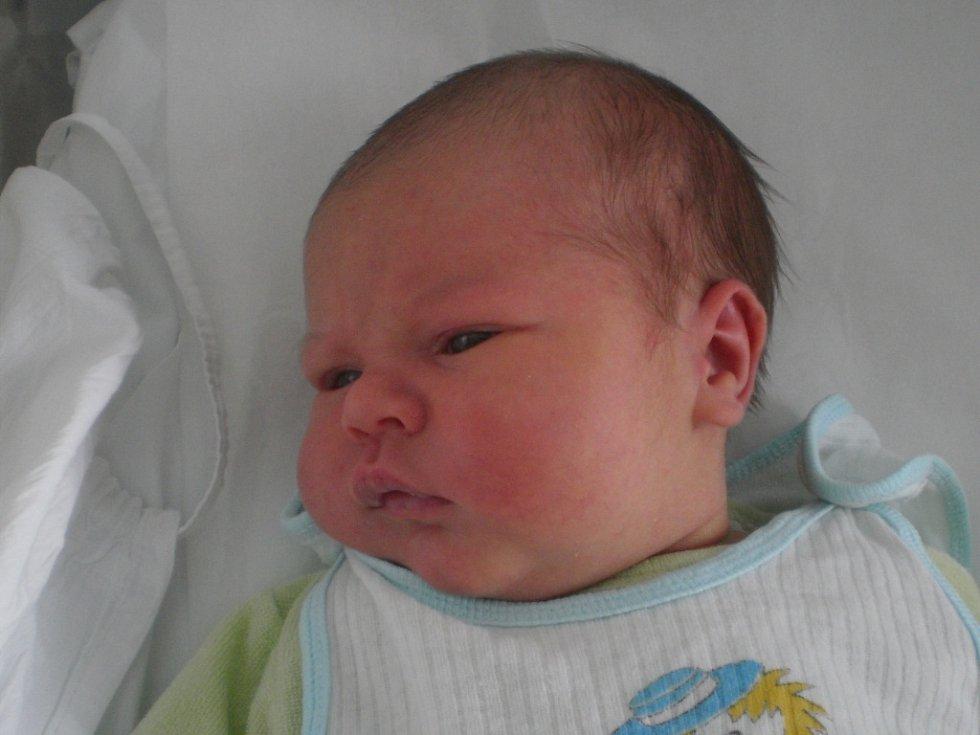Šimon Vinařský, Přerov, narozen dne 30. dubna 2013 v Přerově, míra: 51 cm, váha: 3 700 g