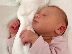Kristýnka Bukalová, narozena 5. července 2012 v Přerově, míra 48 cm, váha 3740 g