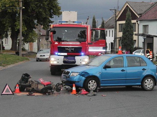 Nehoda v Dolním Újezdu