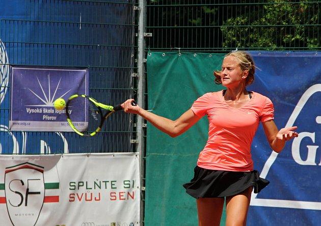 Turnaj ITF žen v Přerově s dotací 15 000 amerických dolarů Zubr Cup. Karolína Kubáňová