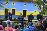 Spolkový dům historie a řemesel otevřeli koncem října v Tučíně - Vesnici roku 2009.