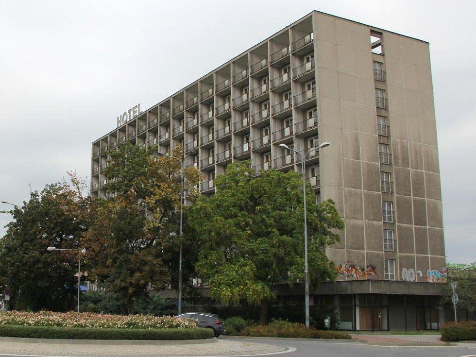 Bývalý hotel Strojař v Přerově