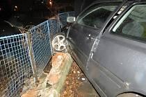 Nehoda v ulici Generála Štefánika